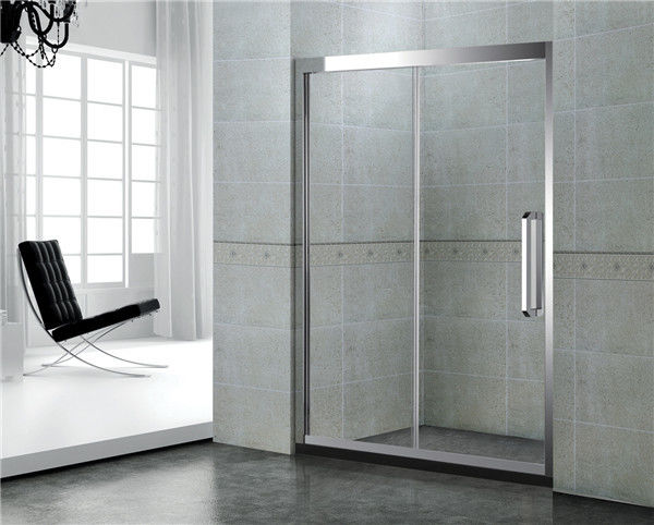8 / 10 MM With Frames Shower Enclosures Tempered Glass With Stianless Steel Accessories