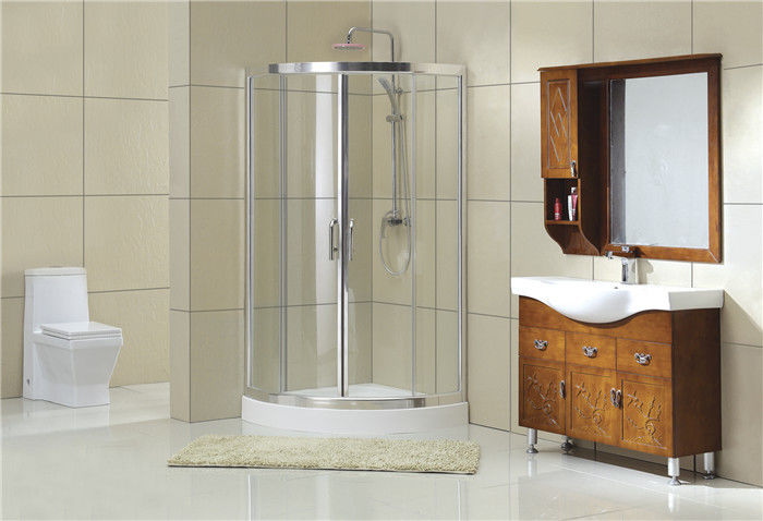 1900MM Height All Arc D Shaped Shower Bath Double Shower Enclosure CE / SGCC